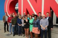 The entire CNN Radio team in 6-2013