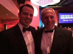 Tyler Moody and Dick Uliano at the Murrow Awards